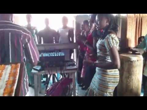 Mixed Choir Singing Good Congo Church