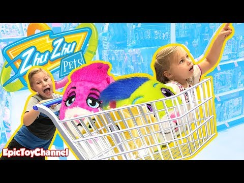 ZhuZhu Pets Surprise Toy Hunt for ZhusDay with toys from Spin Master ZhuZhu Pets Gone Wild!