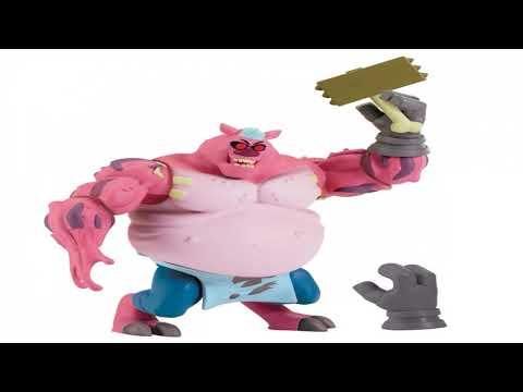 Видео обзор Фигурка TMNT Черепашки Ниндзя, Злодей шеф-повар 12 см, ROTMNT