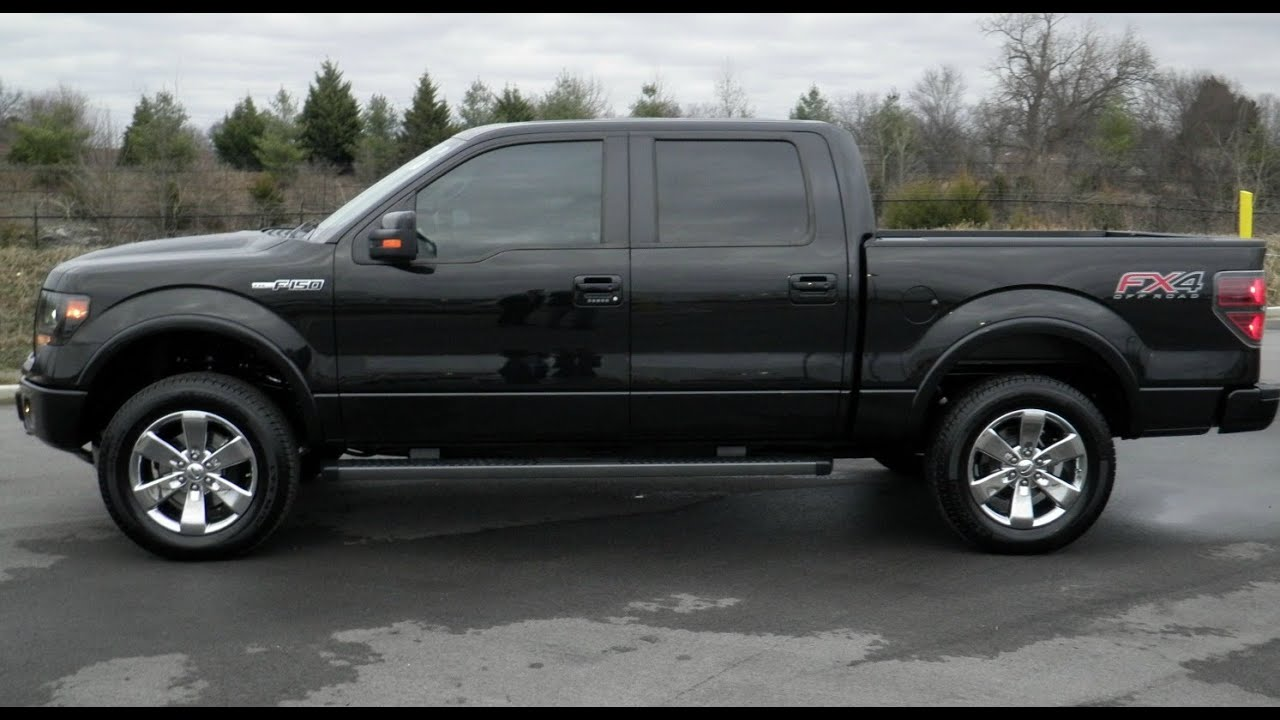 SOLD.2013 FORD F-150 SUPERCREW FX4 OFFROAD 4X4 TUXEDO BLACK 2,678 miles 5.0 CALL GRIZ 855-507 ...