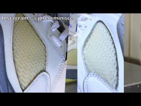 b9b3652c3e51 Jordan 5 Yellow Netting Restoration - YouTube