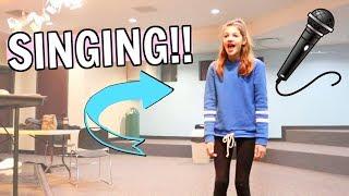 Singing Lessons & Christmas Teacher Gift Shopping! Vlogmas Day 5