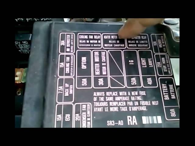 [DIAGRAM_38EU]  Relay Not Working / Radiator Fan : Honda Civic - YouTube | 94 Honda Civic Fuse Diagram Heater |  | YouTube