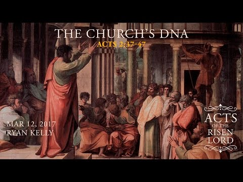 "Ryan Kelly, ""The Church's DNA"" - Acts 2:37-47"