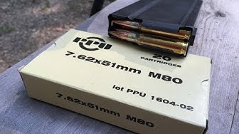 7.62x51mm NATO, 145gr FMJ, M80 Ball, Prvi Partizan Velocity Test