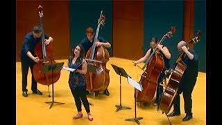 The Missing - for Double Bass Quartet and Voice.