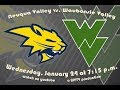 Waubonsie Valley Girls Basketball vs. Neuqua Valley; 1/24/18