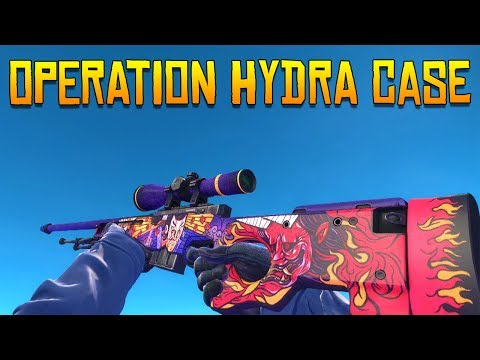 CS:GO - Operation Hydra Case All Skins Showcase