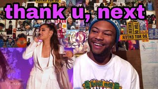 Ariana Grande - thank u, next  (Live on The Ellen Show 2018) | Reaction