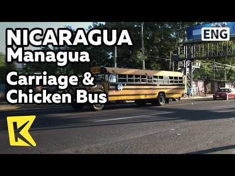【k】nicaragua-travel-managua[니카라과-여행-마나과]마차와-치킨버스/carriage/chicken-bus/public-transportation/taxi
