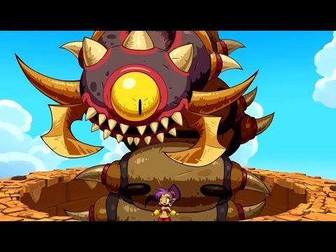 Shantae Half-Genie Hero - All Bosses (No Damage) + Good Ending
