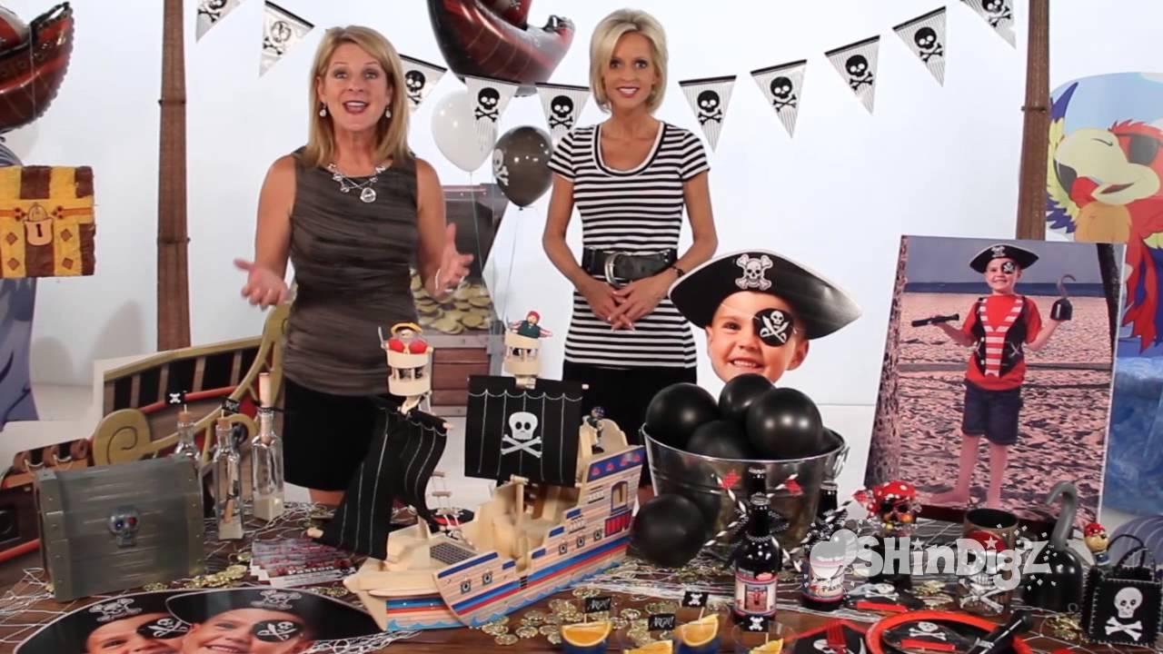 Pirate Party Ideas Birthday Party Supplies Shindigz Youtube
