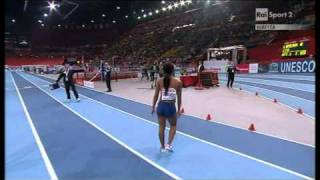 60m women heat 2 European Athletics Championships 2011, Paris