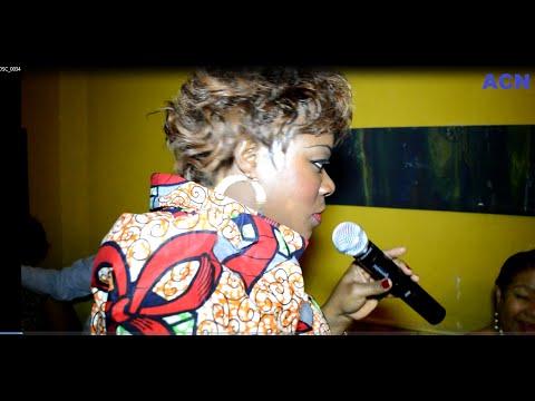 Eyindaki na LILLE Soirée de la Femme avec SCOLA MIEL Ex chanteuse de Bozi et Koffi Oomide