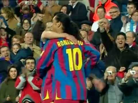F.C.Barcelona Liga 2005-06 Messi, Ronaldinho, Eto'o, Deco, Rijkaard...