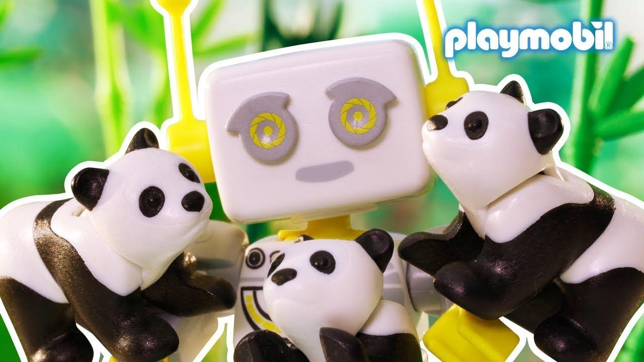 ROBert erklärt | Was fressen Pandabären überhaupt? | PLAYMOBIL