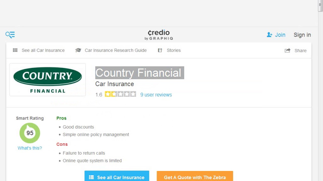 Country Financial Car Insurance >> Country Financial Insurance