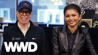 Tommy Hilfiger and Zendaya Preview Round 2 of Their Fashion Collab | WWD