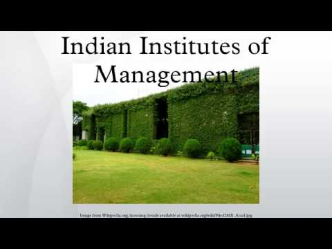 Indian Institutes of Management