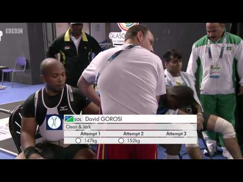 Commonwealth Weightlifting   Glasgow 2014 Men's 85kg Group B Women's 69kg Group B