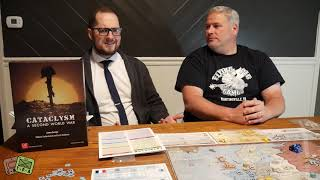 Initial Review: Cataclysm from GMT Games - The Players