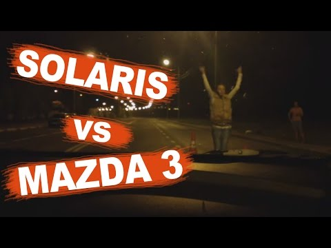 Hyundai Solaris 123hp MT vs Mazda 3 150hp MT