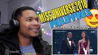 MISS UNIVERSE 2018 CATRIONA GRAY FULL CORONATION NIGHT PERFORMANCE! #pinoypride #missuniverse2018