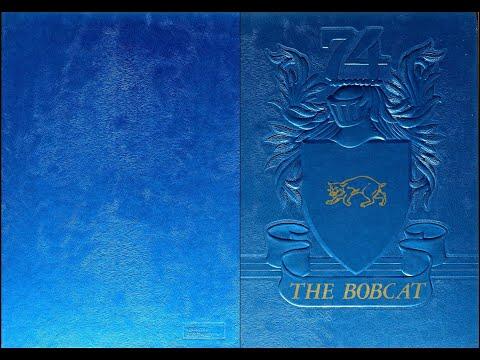 1974 Sunray High School yearbook: The Bobcat