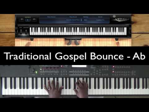 How to Play the Traditional Gospel Bounce in Ab