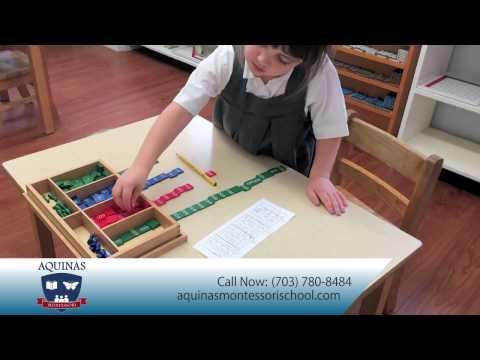 Aquinas Montessori School | Specialty Schools - Montessori in Alexandria