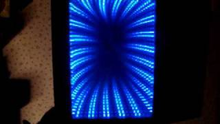 Home Made Blue Led Infinity Mirror