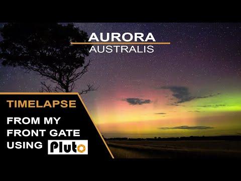 Aurora Australis - (captured with Pluto Trigger)