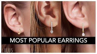 10 Most Popular Women's Earrings Right NOW!!