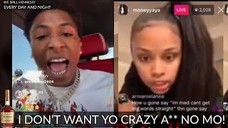 NBA YoungBoy DUMPED Yaya Mayweather after he was SET UP (WATCH NOW)
