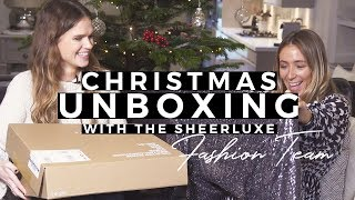 High Street Unboxing Christmas Special With The Fashion Team