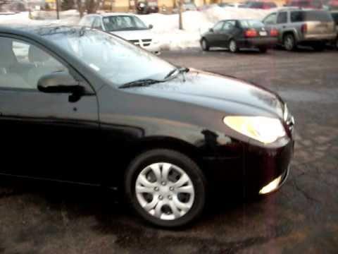 2010 Hyundai Elantra GLS, 4 Door, 2.0 Liter 4cyl, LOADED, Jet Black, 16,000  Miles!!!