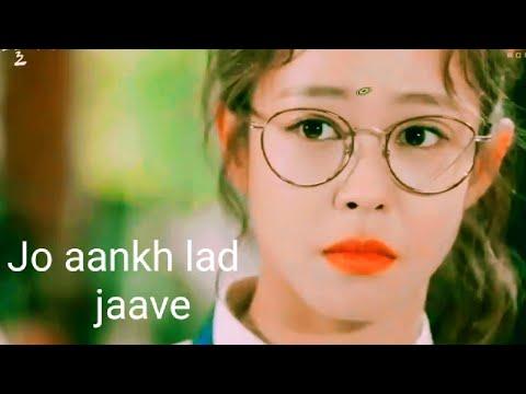 Ankh Lad Jaave Saari Raat Neend Na Aave Hindi Korean Mix Romantic Song