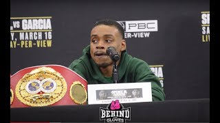 ERROL SPENCE CLAPS BACK AT MIKEY GARCIA FOR WHAT HE'S SAID IN VIDEOS!