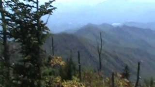 Clingmans Dome Sacred Mtn:to the cherokee indian tribes Great Smoky Mountains national park