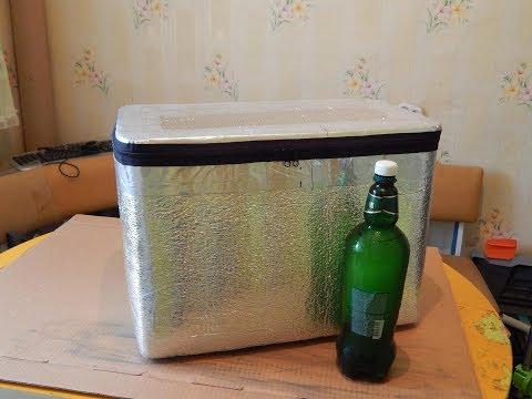 Как самому сделать сумку холодильник