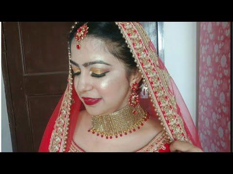 Download Sweat proof Bridal Makeup in hindi    Indian bridal makeup tutorial