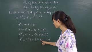 Toán 6: Giải bài tập 56,57,64,65  tập 1