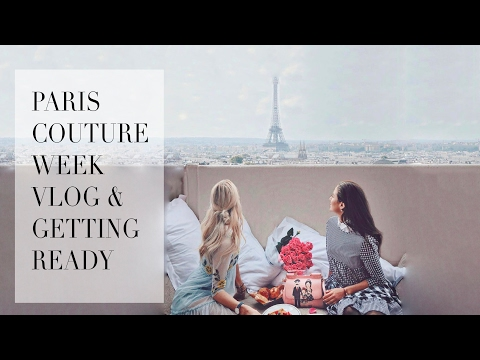 Paris Couture Week and Get Ready With Me Vlog | Tamara Kalinic