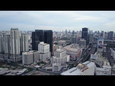 Grand Rama 9 CBD in Bangkok - Mavic Pro 4K