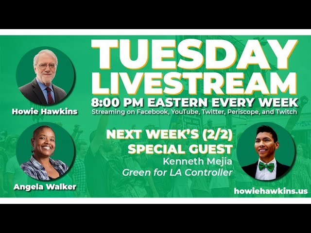 Ask Howie & Angela: Toward a Strong Green Party #12