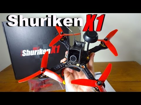 HolyBro Shuriken X1 : Initial Overview and Setup