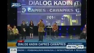 Dialog Kadin dengan Capres/Cawapres (Jokowi-JK)