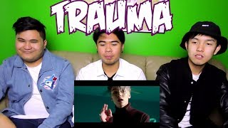 Video SEVENTEEN HIP-HOP TEAM - TRAUMA MV REACTION (FUNNY FANBOYS) download MP3, 3GP, MP4, WEBM, AVI, FLV Juli 2018