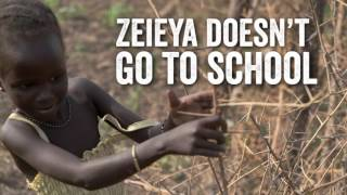 Zeieya's and South Sudan's 5th Birthdays