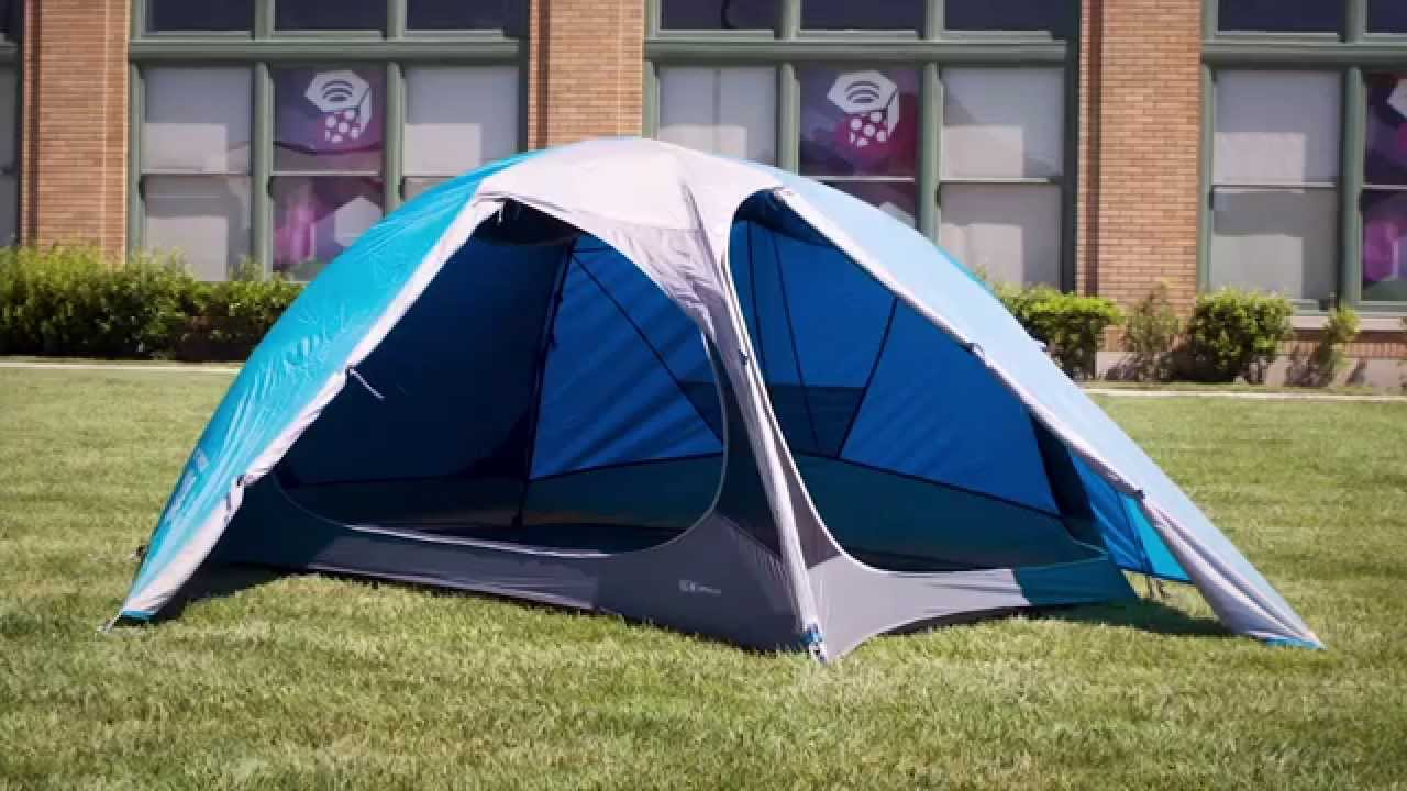 mountain hardwear optic 3 5 tent youtube